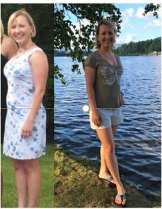 Renee Before and After Plant-Based