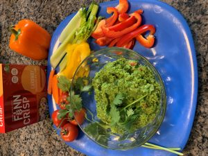 Superbowl Sweet Pea Guacamole