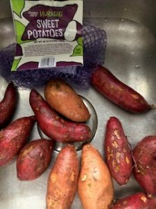 Mix of Sweet and Murasaki Potatoes